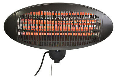 Wall Mounted Infrared Patio Heater With 3 Adjustable Heat Settings • 78£