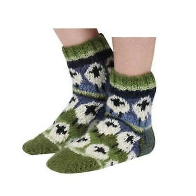 Pachamama 100% Wool Flock Of Sheep Sofa Socks • 17.95£