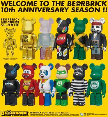 $19.99 • Buy Bearbrick Be@rbrick Series 22 100% By Medicom - You Pick!