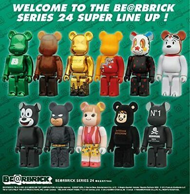 $24.99 • Buy Bearbrick Be@rbrick Series 24 100% By Medicom - You Pick!