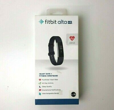 $ CDN80.83 • Buy Fitbit Alta HR, Heart Rate / Fitness Wristband Large Black