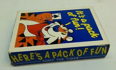 £4.99 • Buy Kellogg's Frosties Promo Playing Cards 1987 Vintage Unused Tony The Tiger