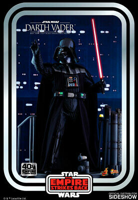 $ CDN376.60 • Buy Hot Toys Star Wars V The Empire Strikes Back 40th DARTH VADER Figure 1/6 Scale
