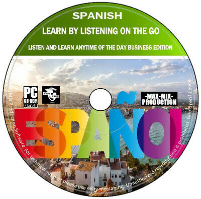 £3.99 • Buy Spanish Language Course Learn By Listening On The Go Business Edition Audio DVD