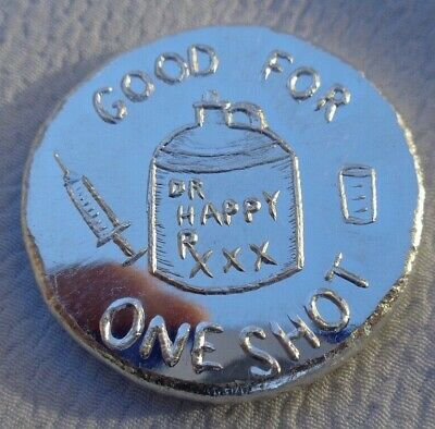 1 Oz. GOOD FOR ONE SHOT Apocalypse Mint Ingot .999 Fine Silver • 35.76£