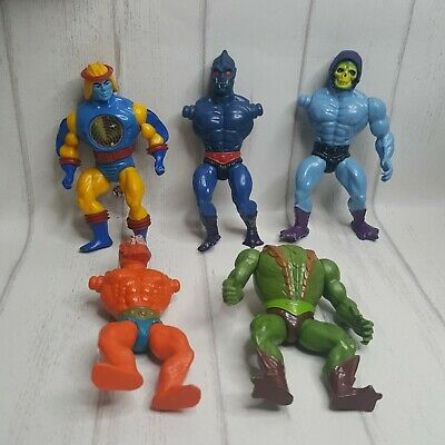 $29.95 • Buy 1980s Vintage Masters Of The Universe MOTU Lot Of 5 For Parts Or Repair