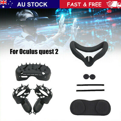 AU51.89 • Buy For Oculus Quest 2 Handle VR Accessories Protective Sleeve Case Face Eye Cover~