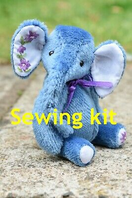£16 • Buy Sewing Kit To Make Elephant 'Anna' - 4.5  Tall - Butterfly Bears
