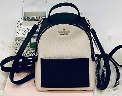 $ CDN223.28 • Buy NWT Kate Spade Merry Backpack Or Crossbody Pebbled Leather Bag Convertible Bag