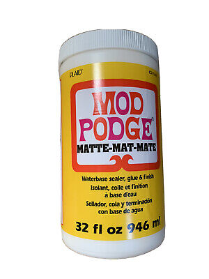 Plaid Mod Podge All In One Decoupage Glue, Sealer And Finish - Matte, 32oz. • 19.25£