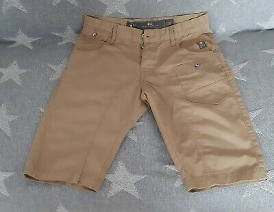 CrossHatch Mens Likewise Chino Shorts, Light Brown Size 32   • 9.99£