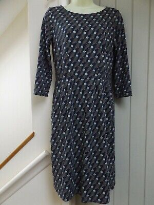 Gorgeous Boden Owl Print Jersey Boho Dress...size 10...next Day Postage • 12.99£