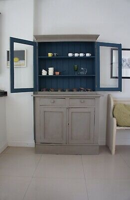 £250 • Buy Upcycled Hand Painted Annie Sloan Farmhouse Kitchen Cabinet