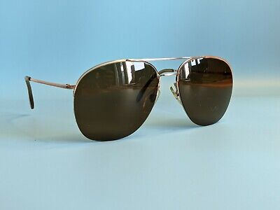 £35.96 • Buy Vintage 70s Rodenstock Gold Plated Rectangular Sunglasses Made In Germany