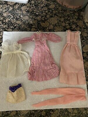 $ CDN13.98 • Buy Vintage #7796 Sweet 16 Barbie Doll Clothes Pink Dress Clothing Lot