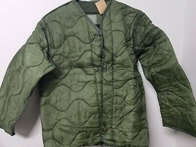 $25 • Buy Army Issue M65 Field Jacket Liner Extra Small Nwt