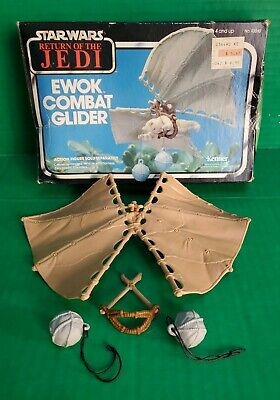 $ CDN53.21 • Buy Vintage 1983 Star Wars ROTJ Ewok Combat Glider W/ Box Kenner