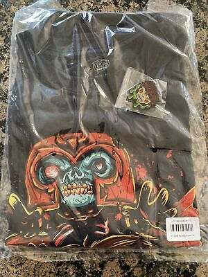 Funko MARVEL COLLECTOR CORPS ZOMBIES T-SHIRT- Wolverine, Magneto - Large W Pin • 9.29£