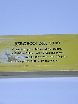 $ CDN151.55 • Buy Vintage Bergeon No. 5700  Reversible Case-holding Jaws Swiss Made Watch Tools