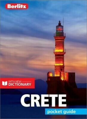 Berlitz Pocket Guide Crete (Travel Guide With Dictionary) (Berlitz Pocket • 6.29£