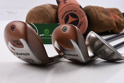 Taylormade Burner Wood Set / 1,3 Wood + 2h  / Stiff Flex Bubble 90 / Tadbur1165 • 79.95£
