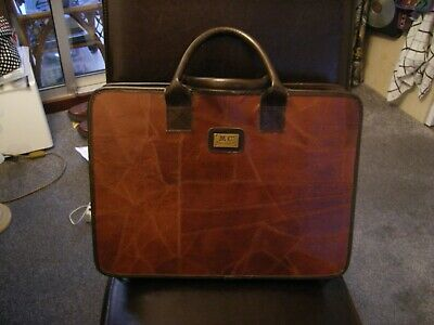 Leather Briefcase Ladies Salisbury's Make • 8£