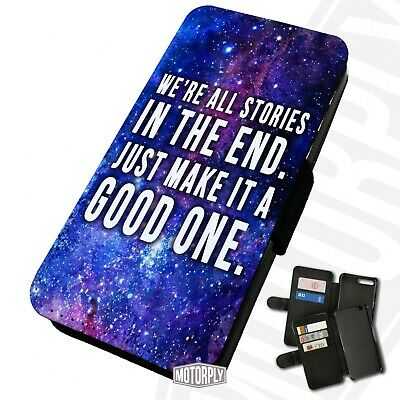 Printed Faux Leather Flip Phone Case For IPhone - Dr-Who-All-Stories • 9.75£