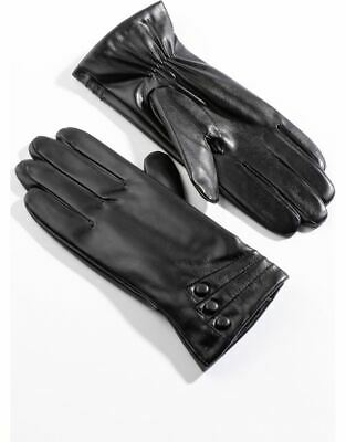 £11 • Buy Anna Rose Leather Look Gloves - Ladies Womens - Klass Collection