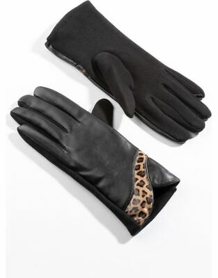 Leather Look Gloves - Ladies Womens - Klass Collection • 7£
