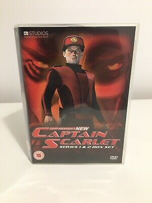 The New Captain Scarlet DVD Box Set Series 1 & 2 ITV DVD • 15.50£