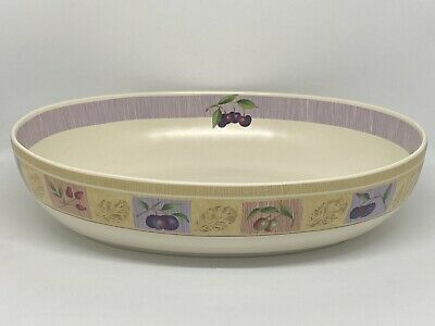 Marks And Spencer M&S Wild Fruits Oval Vegetable Bowl 11  • 15£