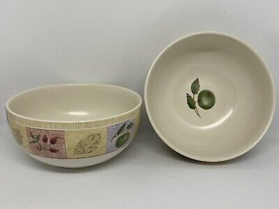 Marks And Spencer M&S Wild Fruits Coupe Cereal Bowls - SET OF TWO • 12£