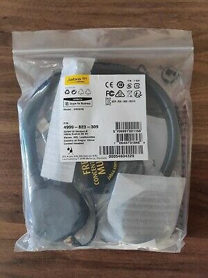 New Jabra Evolve 20 Se Stereo Headset,  Skype, Lync, Teams 4999-823-309 Hsc016 • 39.99£