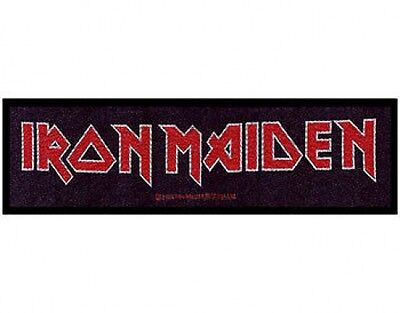£3.99 • Buy IRON MAIDEN Logo 2011 - WOVEN STRIP SEW ON PATCH Official Merchandise (sealed)