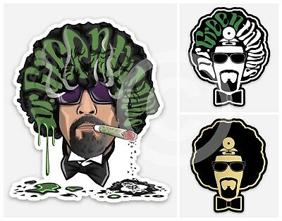 Cypress Hill (B-Real) - Dr Greenthumb STICKERS - Cookies Smoking Weed (3 PACK) • 5.99£