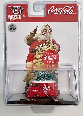 $ CDN37.64 • Buy M2 Machines Christmas Coca-cola 1960 Vw Delivery Van Chase 1/750