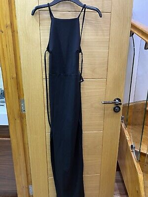 £7.99 • Buy RRP£35 Nasty Gal BNWT Women Size 6 Black Sexy Backless Maxi Party Evening Dress