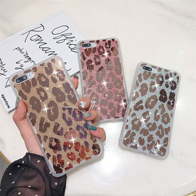 Case For IPhone 11 8 7 Plus Pro MAX XR ShockProof Leopard Phone Silicone Cover • 3.86£