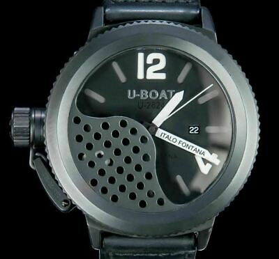 $1685 • Buy U-BOAT Fontana '' Flight Deck Ship ''  Automatic PVD Coated Stainless Steel