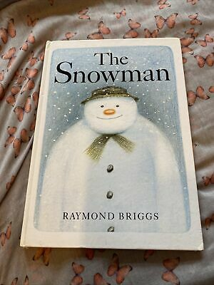 THE SNOWMAN, Raymond Briggs, 1st Edition Hardcover, Published By Hamish Hamilton • 4.99£