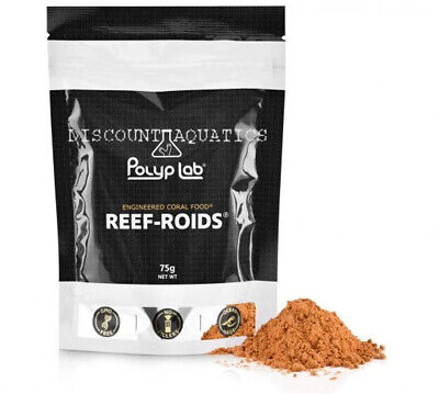 £22.75 • Buy Polyplab Reef-Roids 75g  NEW BIGGER SIZE Engineered Zooplankton Coral Food