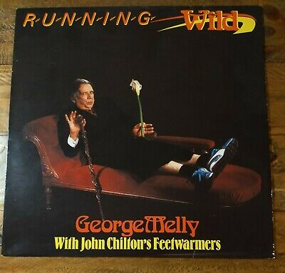 George Melly With John Chilton's Feetwarmers - Running Wild * Signed * Vinyl LP • 5£