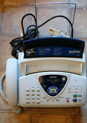 Brother Fax T96 Fax Machine Telephone For Use/parts Or Up-cycling • 30£