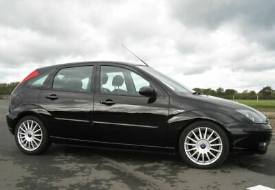 FORD FOCUS ST170-2002-2.0-5-door-Panther Black-ONLY 56K GENUINE MILES And FSH !  • 2,995£