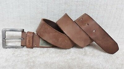 $19.99 • Buy FOSSIL - MEN'S Casual Fashion BELT - Light BROWN Leather - Size 34