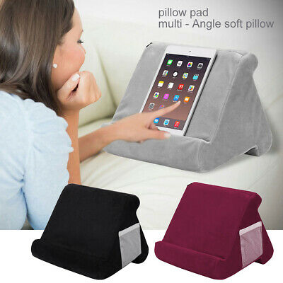 Soft Pillow Lap Stand For IPad Tablet Multi-Angle Phone Cushion Laptop Holder • 10.19£