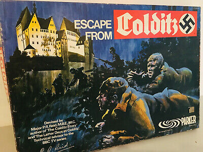 Escape From Colditz Board Game 1973 Parker Complete Excellent Condition • 90£