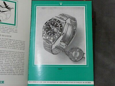 $ CDN200.95 • Buy Vintage 1960's Rolex Catalog With Prices From 1962 Gmt, Submariner + More