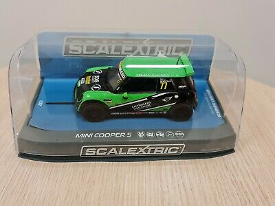 AU60 • Buy Scalextric Mini Cooper F56,Challenge 2015 Donington Park No 77 Neil In Case 1:32