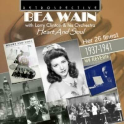 Bea Wain With Larry Clinton & His Orchestra: Heart And Soul =CD= • 9.99£